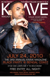 Devin Thomas Promo for the Black Party