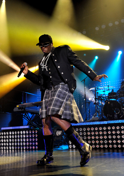 Diddy in Kilt - Glasgow, Scotland