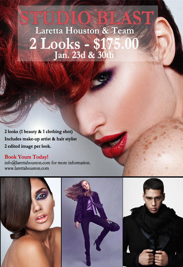 Studio Blast Limited Time Offer From Laretta Houston Team Krave