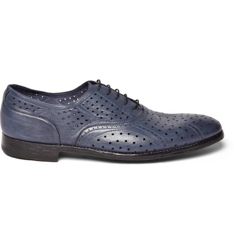 Perforated Leather Brogues Paul Smith $580