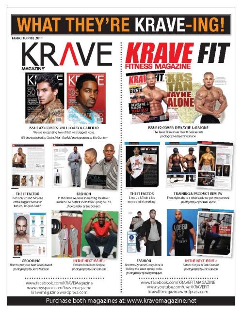 KRAVE March/April Newsletter