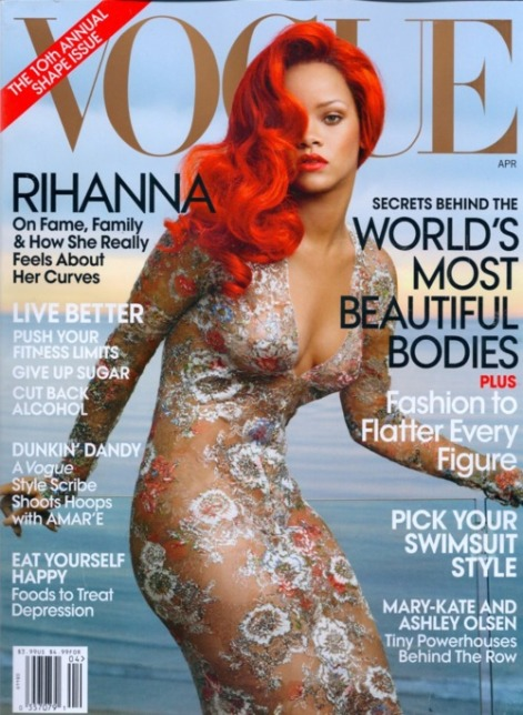Rihanna for Vogue, Annie Leibovitz