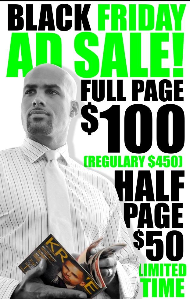 Black Friday Ad Sale