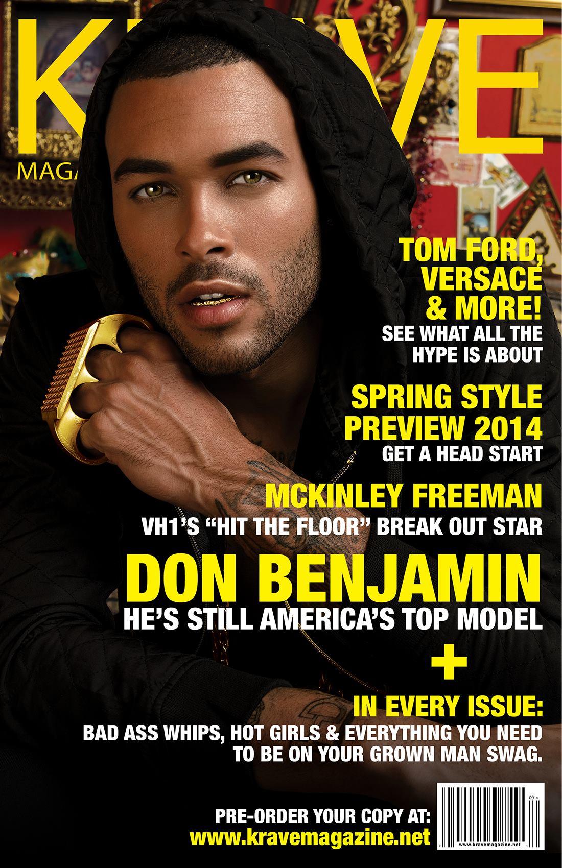 america s next top model contestant don benjamin krave. Black Bedroom Furniture Sets. Home Design Ideas