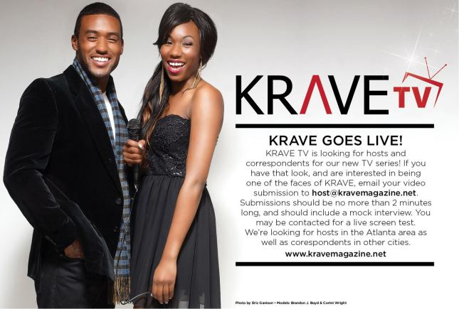 KRAVE TV LOOKING FOR HOSTS