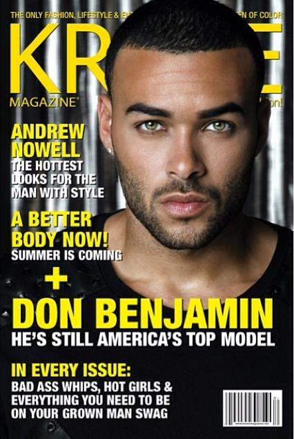 Don Benjamin for the cover of KRAVE