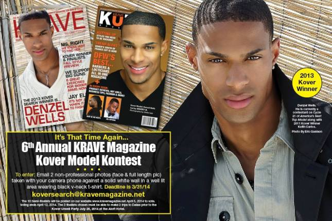 6th Annual Krave Magazine Kover Model Kontest