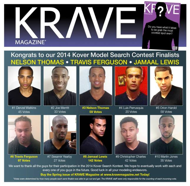 2014 Kover Search Finalists.