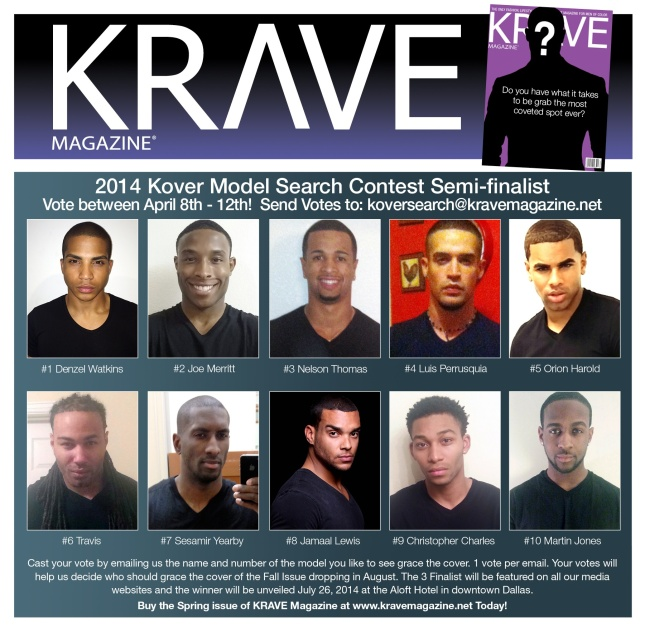 2014 Kover Model Search Contest Semi-finalist