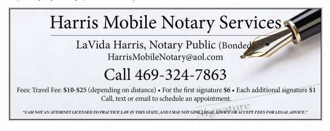 Mobile Notary Ad